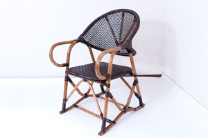 象ばな椅子 (茶染め)